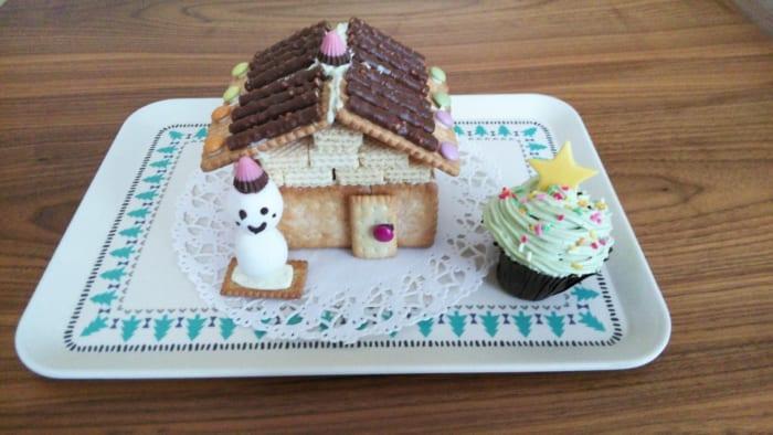 12月16日(土)親子DEクリスマス☆夢見るお菓子のお家とカップケーキツリー講座