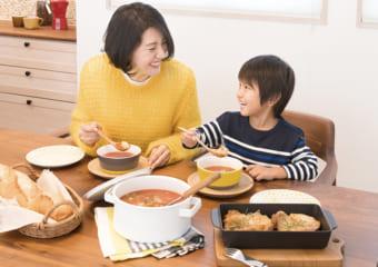 寒い冬は、栄養満点あったかスープで乗りきろう!